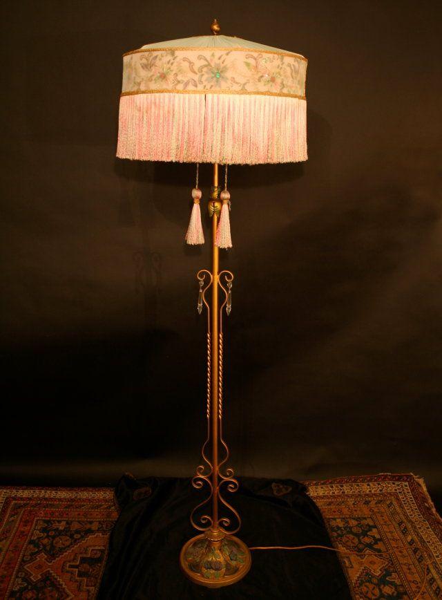 Antique 1920s floor lamps car interior design for 1920s floor lamps