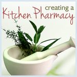 creating a kitchen pharmacy