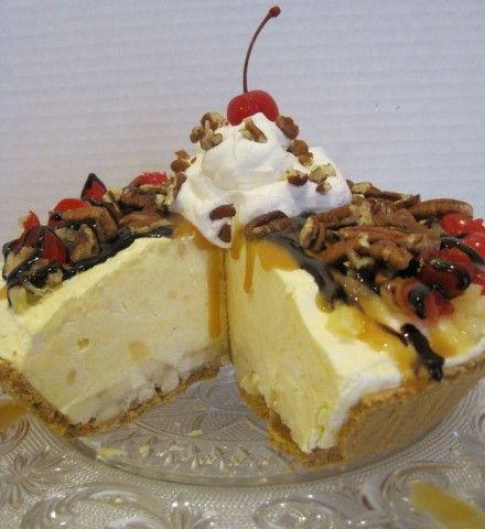 Banana Split Cheesecake | Recipe