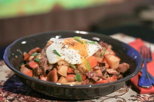 the chew | Recipe | Daphne Oz's Turkey Sweet Potato Hash