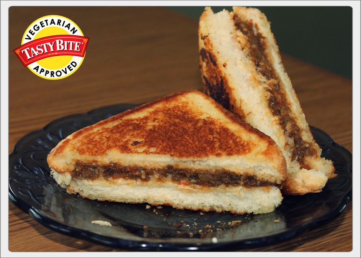 Tired of the normal grilled cheese? Then spice it up with some Punjab ...