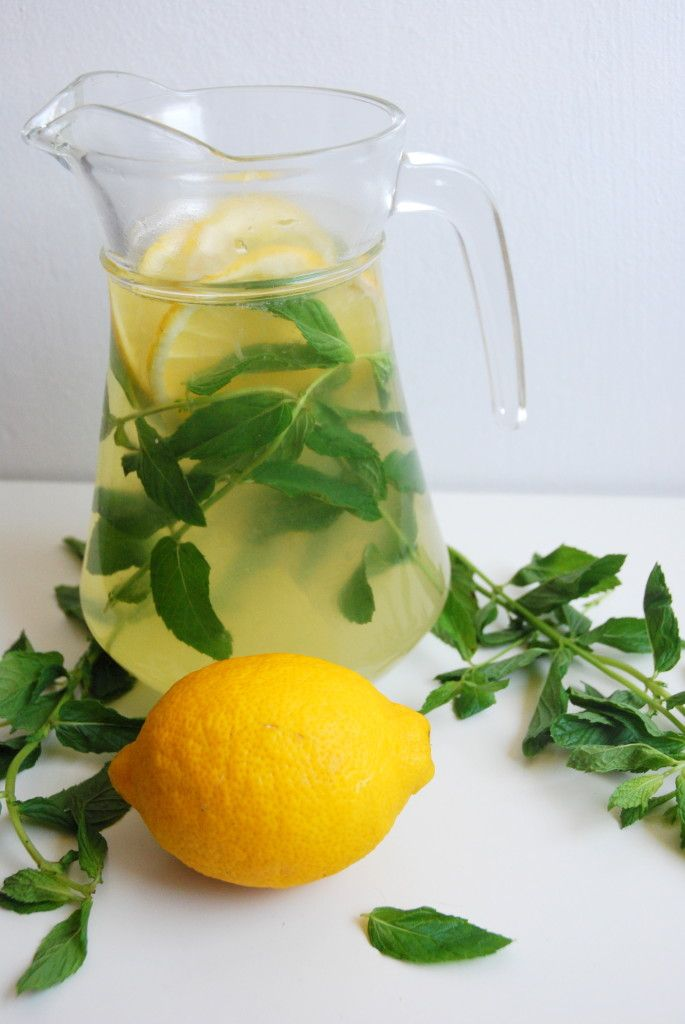 Mint lemonade. | food. | Pinterest