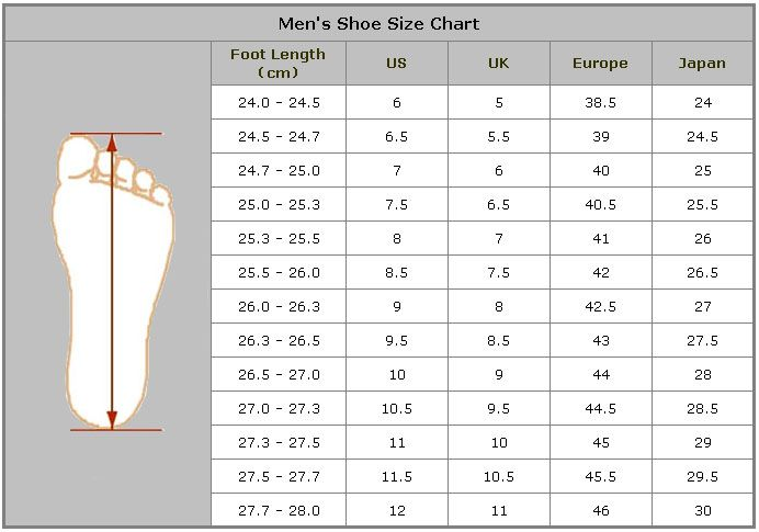 shoes - Sizes - The Online Quantinary℠.