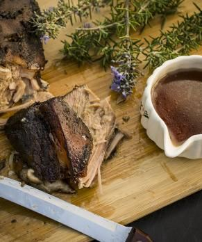 Slow-Cooker Italian Pork Roast #glutenfree