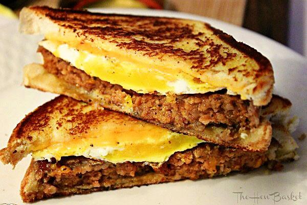 The Hen Basket: Breakfast Grilled Cheese | Breakfast Recipes | Pinter ...