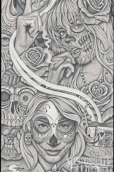 Lowrider art | LOWRIDER ARTE | Pinterest