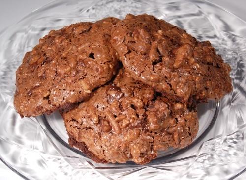 Flourless Double Chocolate Pecan Cookies | cookie crumbles ...