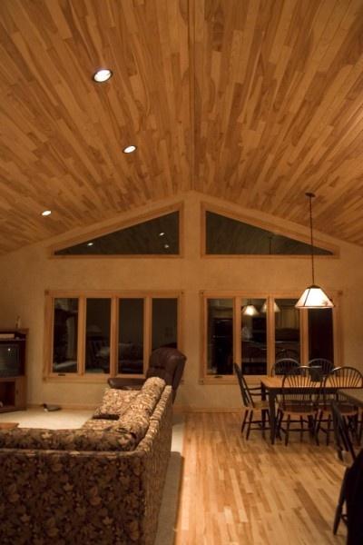 White Ash Ceiling