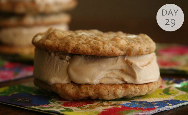 ... Ice Cream Treats: White Chocolate Oatmeal Cookie Ice Cream Sandwiches