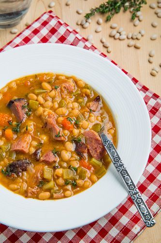 Ham And Bean Soup.... | yumskies | Pinterest