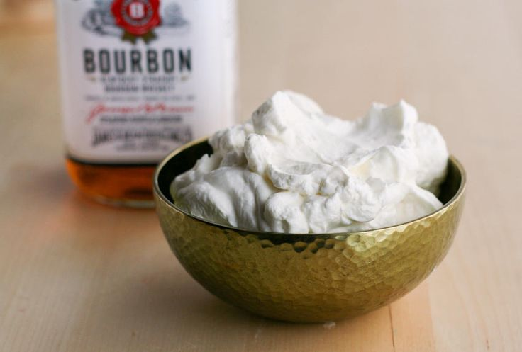 Bourbon whipped cream | Eat North | Canadian Food Culture | Pinterest