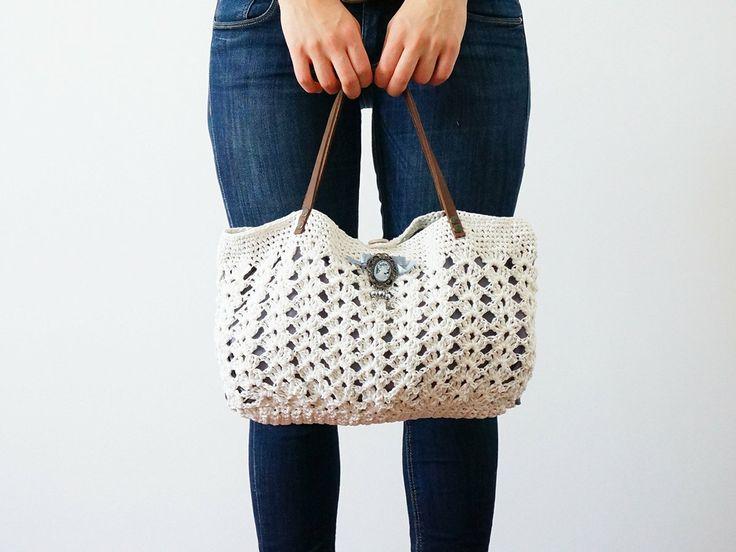 Crochet Summer Bag : crochet summer bag crochet & Knitting Pinterest
