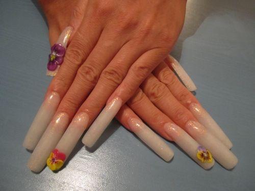 Very Long Nails.   Nail Designs   Pinterest