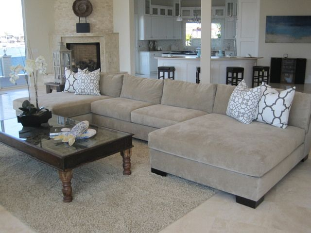 Large Double Chaise For The Home Pinterest