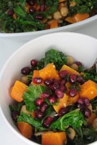 Clean Eating Magazine's ginger-lime kale with butternut squash