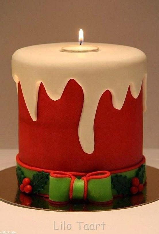 Cute Christmas Cake CHRISTMAS Pinterest