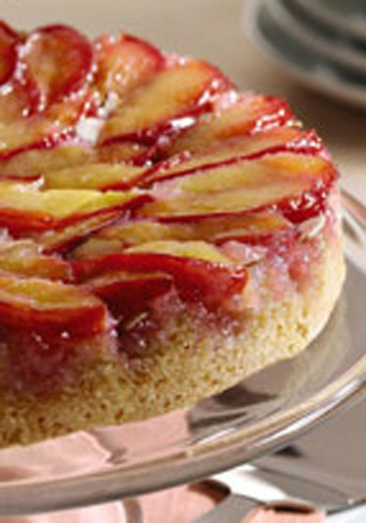 Plum Upside Down Cake | Cakes and Cupcakes | Pinterest
