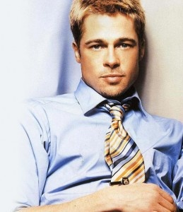 Short hair Brad Pitt- Good for Mitch Dennehy from A Passion Redeemed