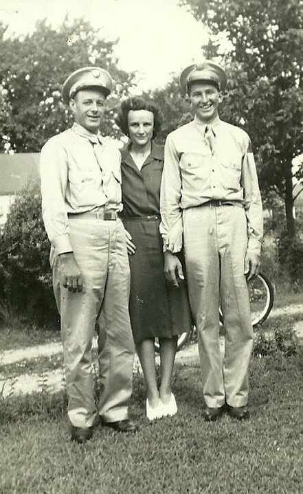 My Great Uncle Wilbert (left) and his wife Helen