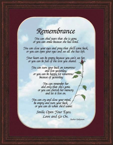 Lost Loved Ones Poems Quotes : remember lost loved ones quotes Car Tuning