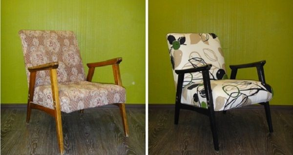 Как своими руками переделать кресло