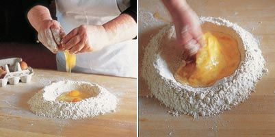 Homemade Pasta Dough. Awesome how-to! Now I just need the kitchen aide ...