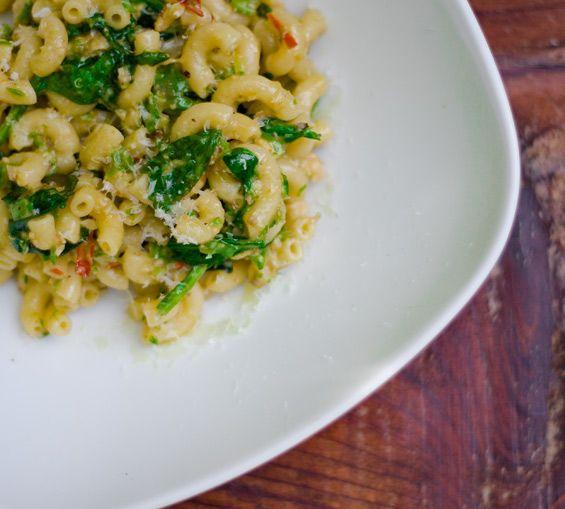 Asparagus Pesto With Pasta Recipe — Dishmaps