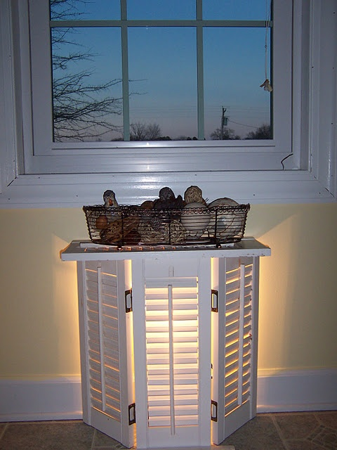 ideas for decorating with shutters i would love to do this on my