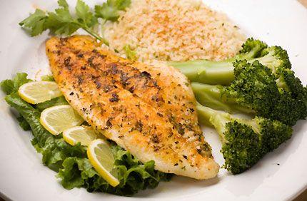 Easy Baked Tilapia - EDjGE.com | Seafood | Pinterest