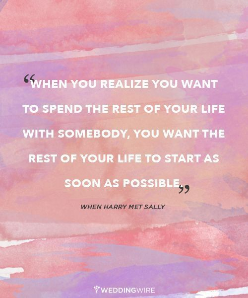 50 Quotes About Love And Marriage : When Harry Met Sally. Love and marriage Quotes Pinterest