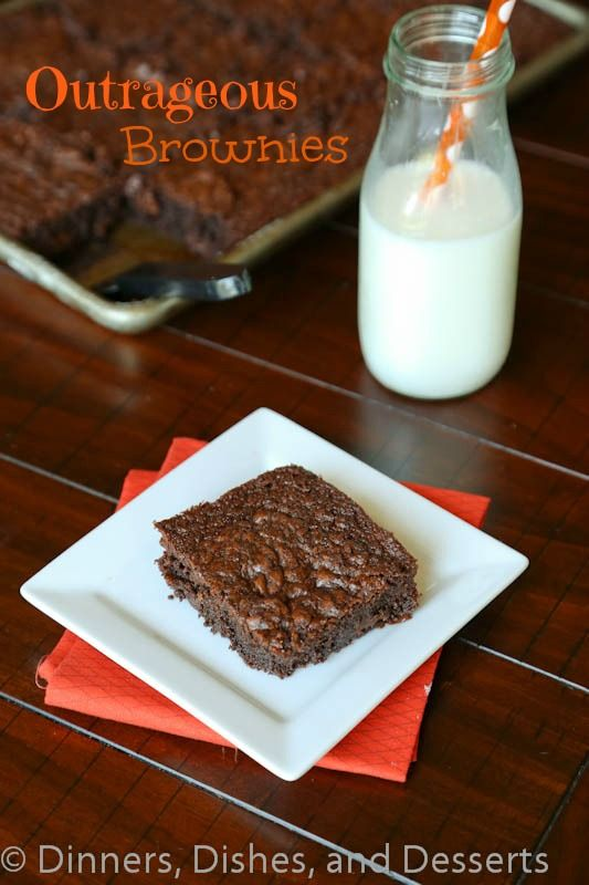 Outrageous Brownies | Recipe