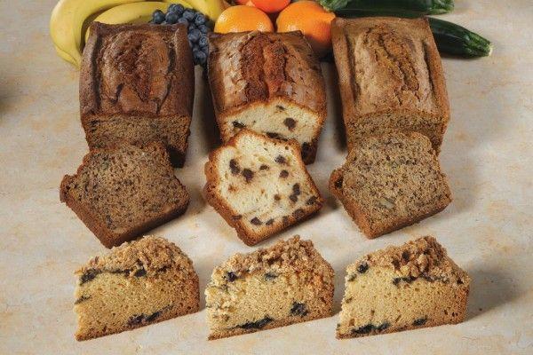 Make Your Quick Breads Healthy | Good Flour | Pinterest