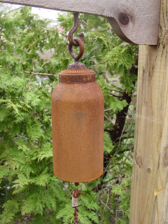 Handcrafted Ornamental Functional Small Garden Bell Gong