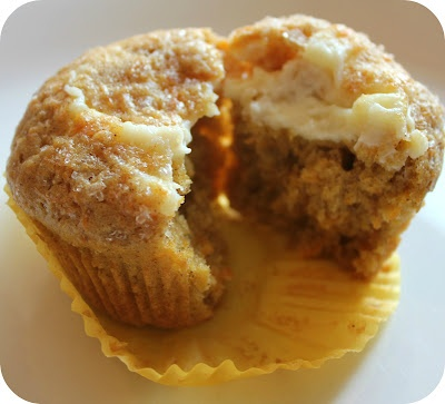 Inside Out Carrot Cake Muffins | Cakes and Pies | Pinterest