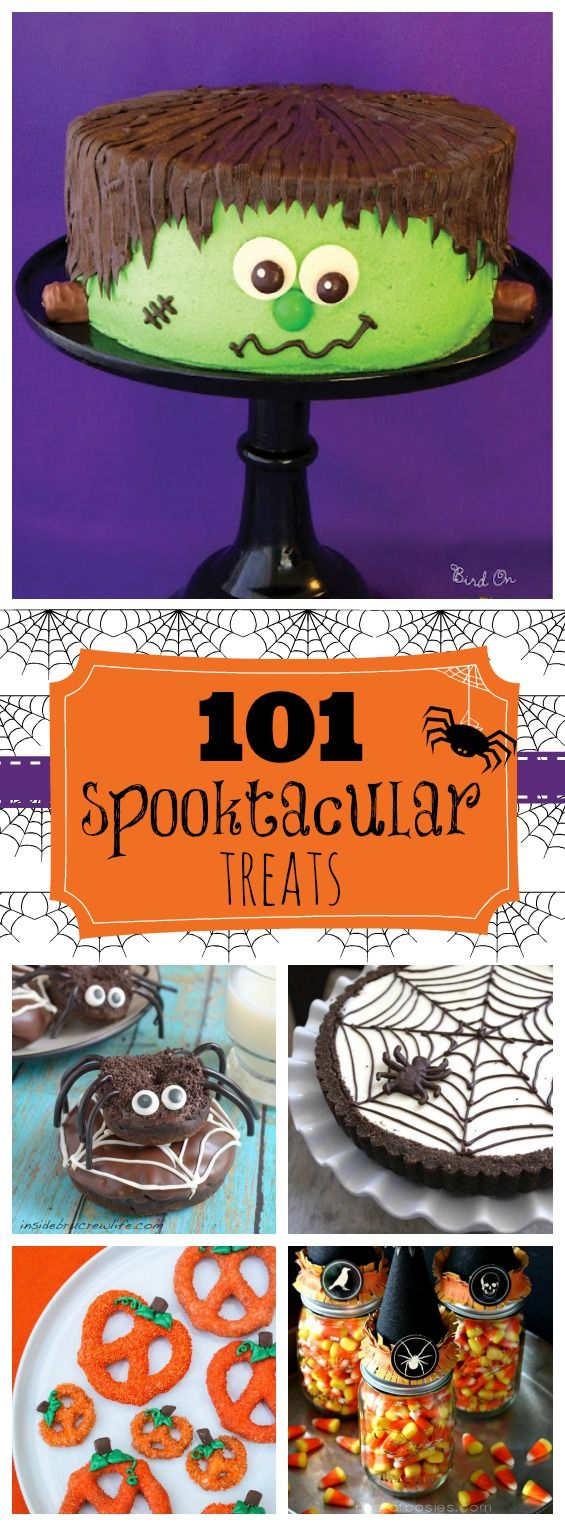 101 Spooktacular Treats