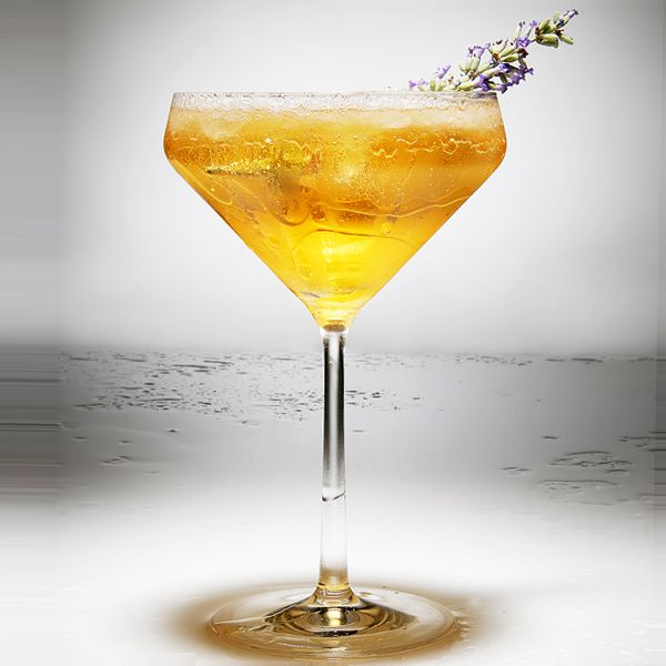 Passion Fruit Thyme Mocktail
