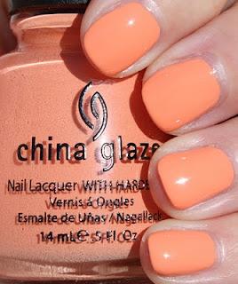 China glaze Peachy Keen :)