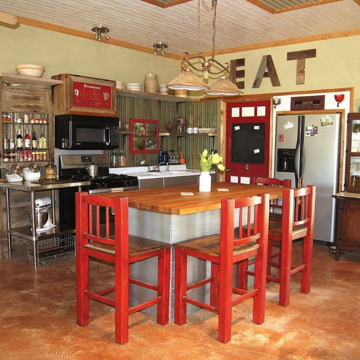 Small rustic kitchen makeover for Small rustic kitchen