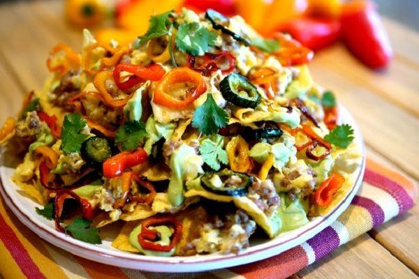 caribbean nachos caribbean nachos recipe yummly caribbean nachos ...