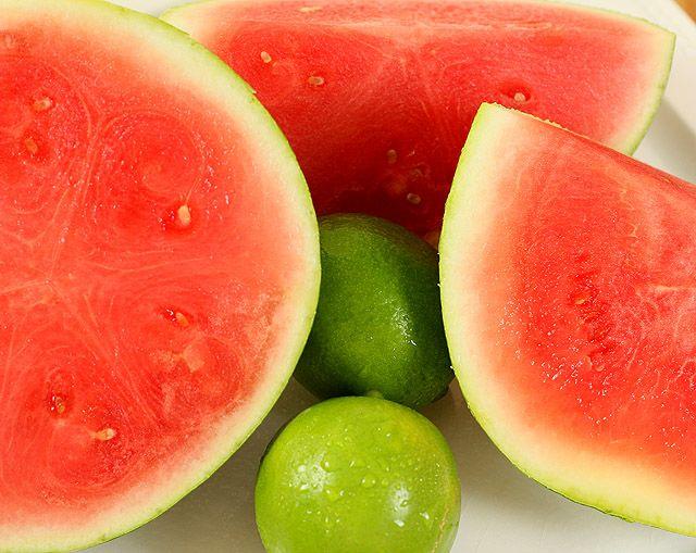 Watermelon Martinis Recipe — Dishmaps