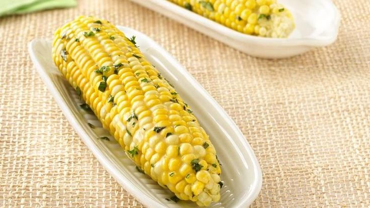 Grilled Corn on the Cob with Herb Butter | Recipe