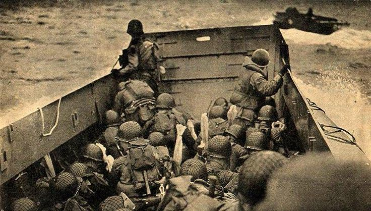 d-day photos national archives