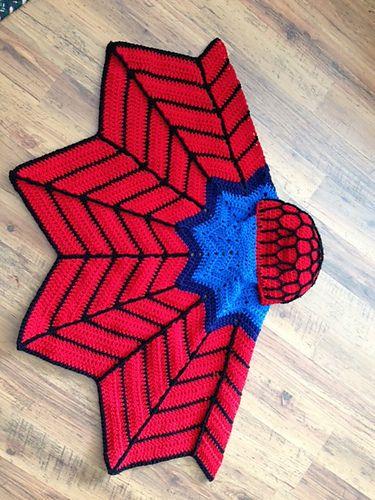 Free Crochet Pattern Baby Capelet : Superhero Cape pattern by Heidi Yates