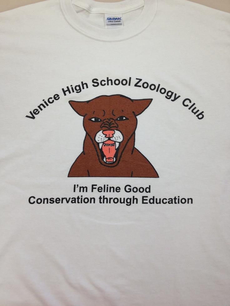 Venice High School Zoology Club T-shirt