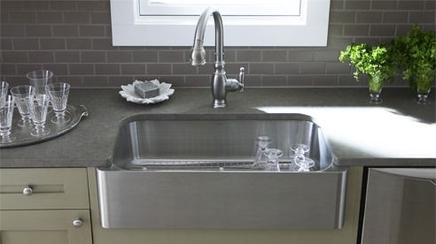 Kohler Stainless Apron Sink : Kohler Stainless Steel Sink Home Decorating Pinterest