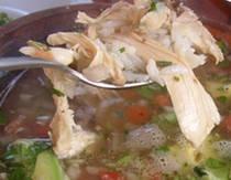 Chicken and Avocado Soup | s o u p s | Pinterest