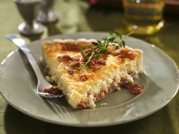 Bacon and Swiss Quiche. This is the best quiche recipe ever! I use a ...