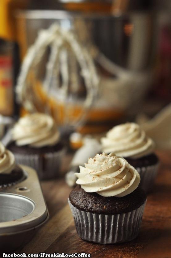 Irish Coffee Cupcakes | Coffee Love ಌಌಌ | Pinterest