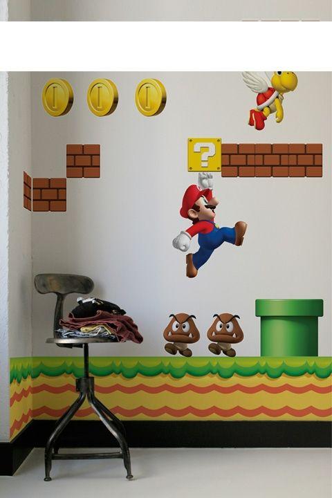 Super Mario Bros. wall sticker #SuperMario #Nintendo