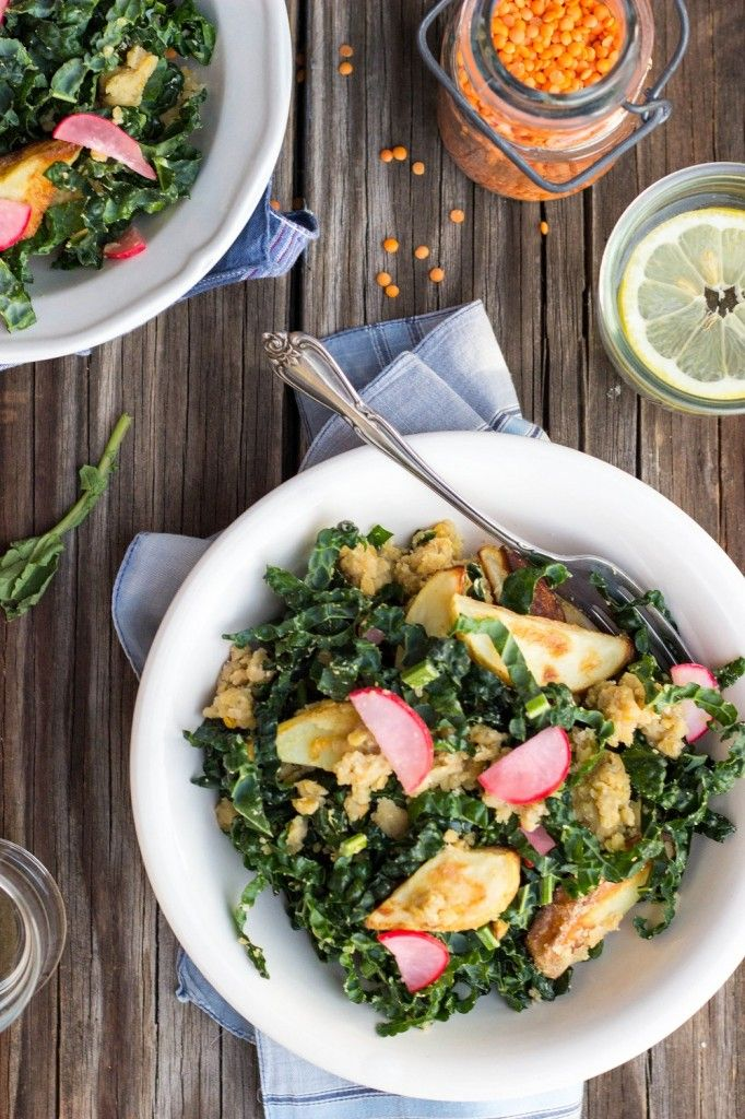 ... pickled cole slaw kale salad with quick pickled watermelon radish